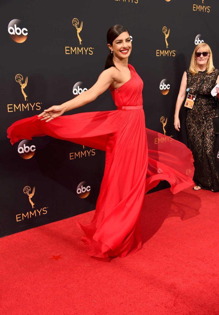 Priyanka Chopra at the 68th Emmy Awards in Los Angeles 09/18/2016-3