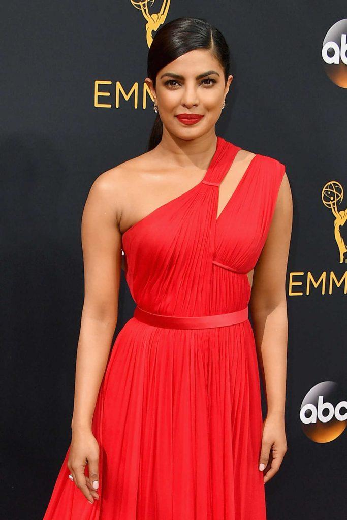 Priyanka Chopra at the 68th Emmy Awards in Los Angeles 09/18/2016-5