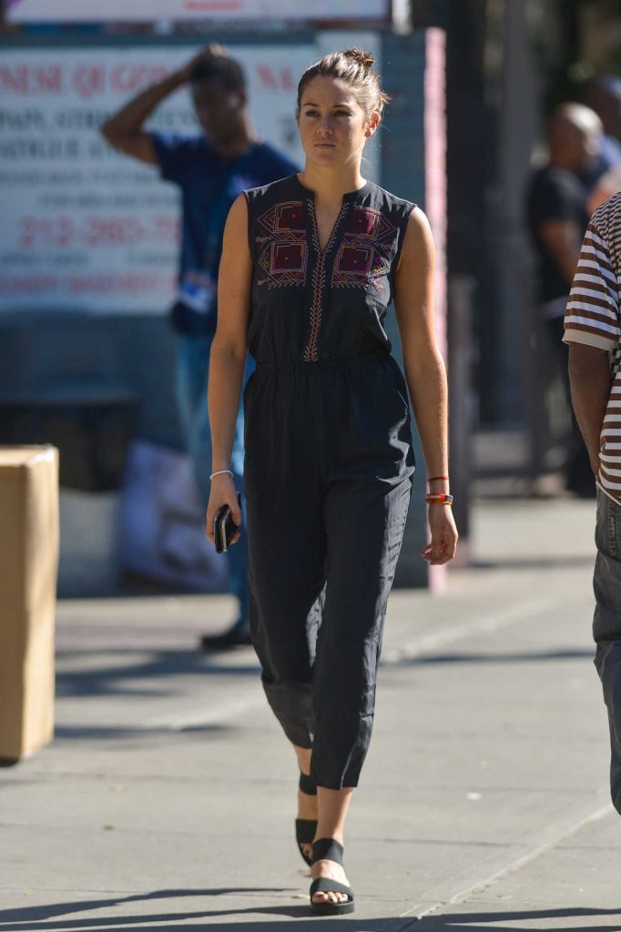 Shailene Woodley Was Seen Out in Downtown Manhattan 09/15/2016-4