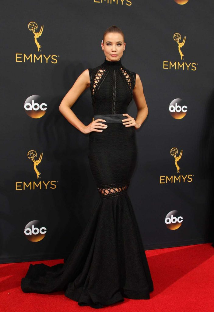 Stephanie Corneliussen at the 68th Emmy Awards in Los Angeles 09/18/2016-1