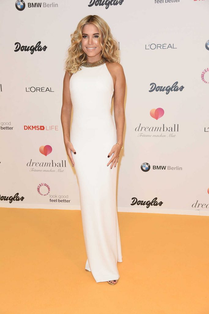 Sylvie Meis at the DKMS Dreamball 2016 in Berlin 09/29/2016-1