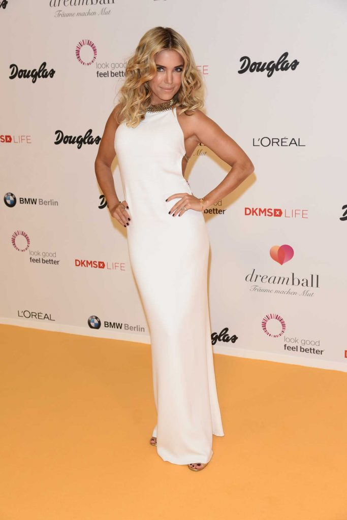 Sylvie Meis at the DKMS Dreamball 2016 in Berlin 09/29/2016-2