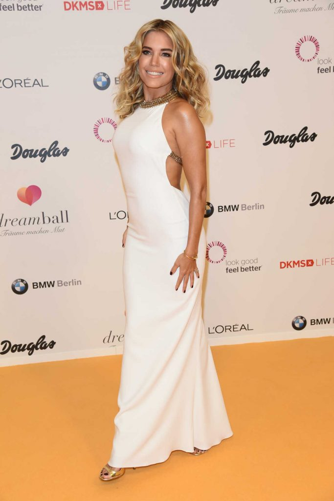 Sylvie Meis at the DKMS Dreamball 2016 in Berlin 09/29/2016-4