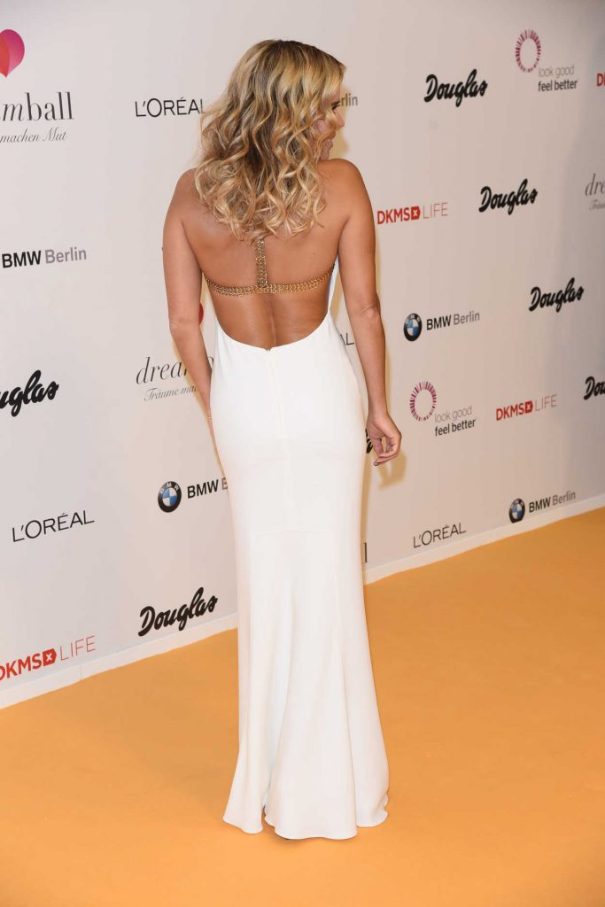 Sylvie Meis at the DKMS Dreamball 2016 in Berlin 09/29/2016-5