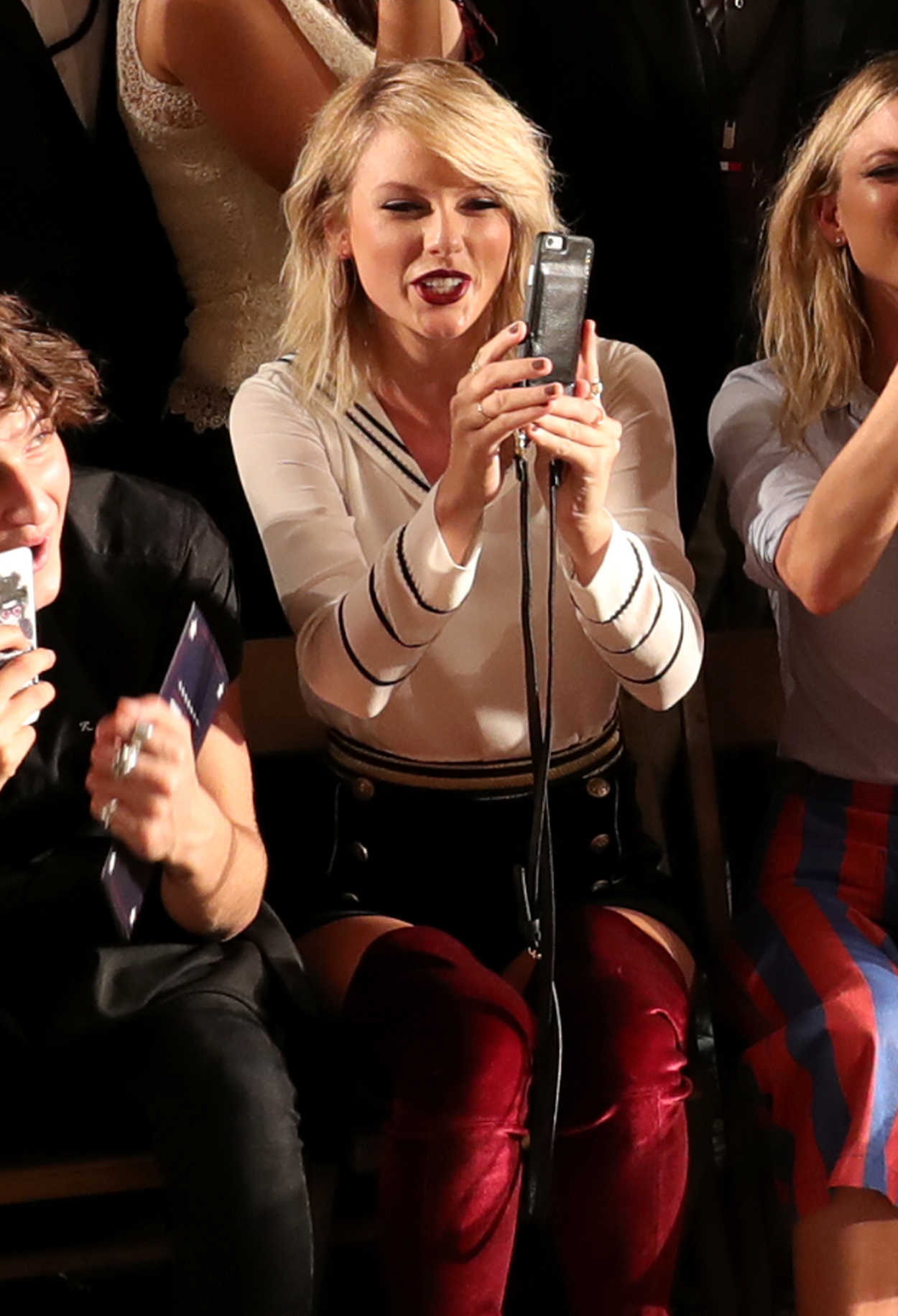 Taylor Swift At The Tommynow Women S Fashion Show During New York Fashion Week 09 09 2016