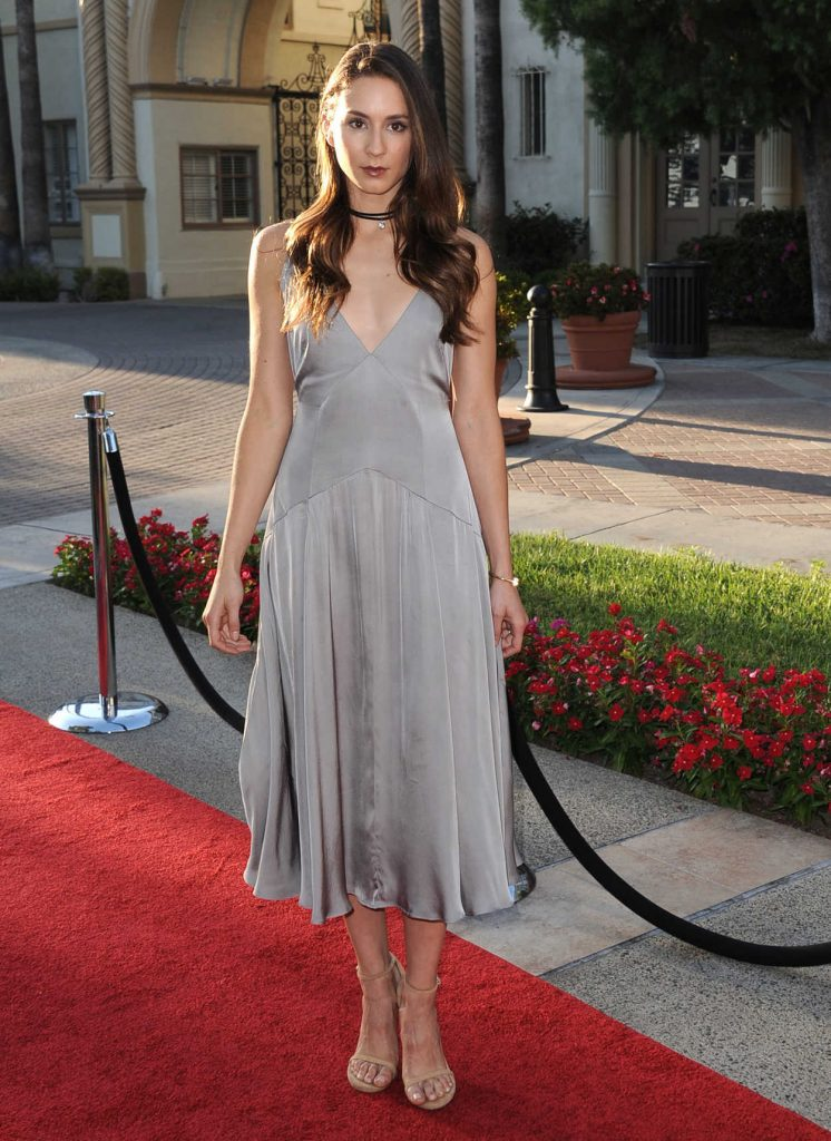 Troian Bellisario at the Sister Cities Premiere in Los Angeles 08/31/2016-1