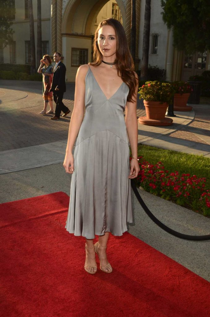 Troian Bellisario at the Sister Cities Premiere in Los Angeles 08/31/2016-2