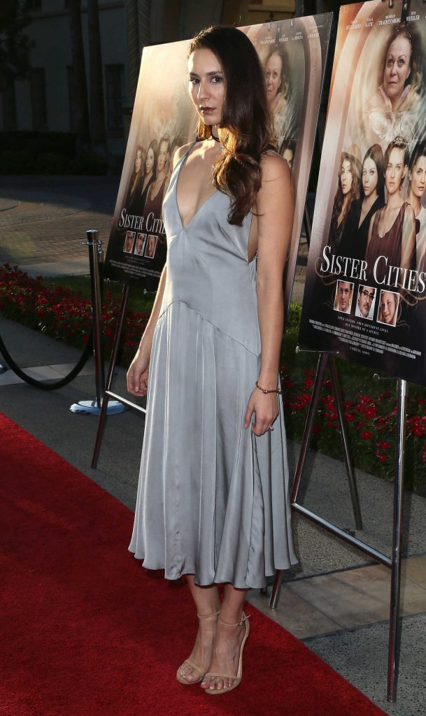 Troian Bellisario at the Sister Cities Premiere in Los Angeles 08/31/2016-3