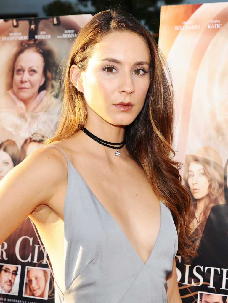 Troian Bellisario at the Sister Cities Premiere in Los Angeles 08/31/2016-4