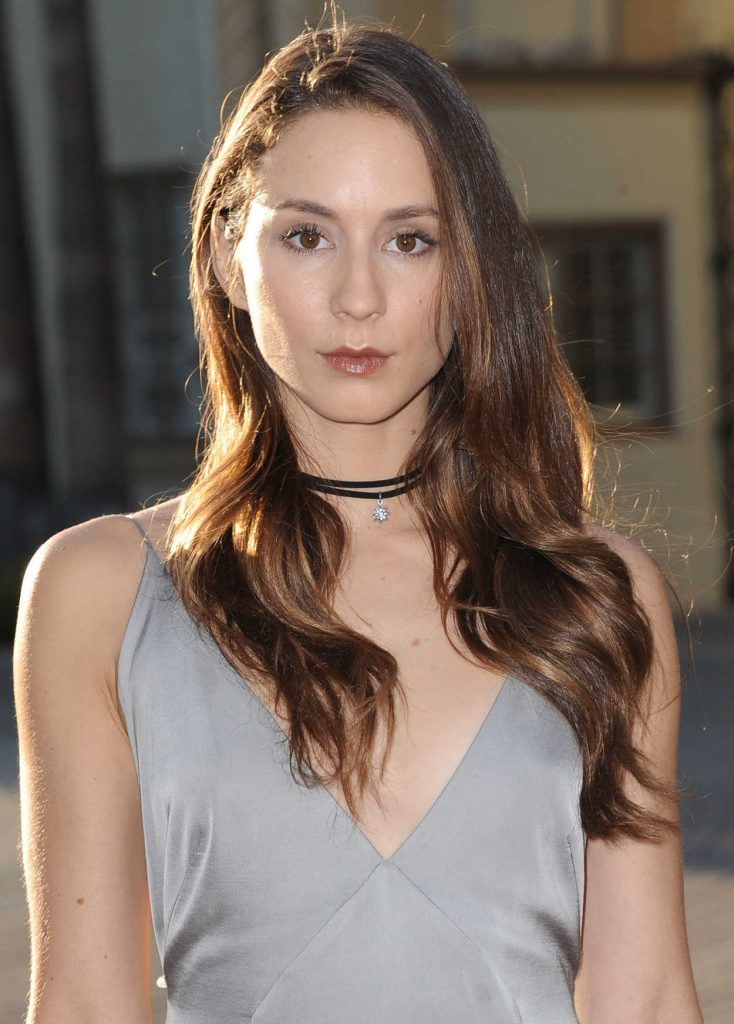 Troian Bellisario at the Sister Cities Premiere in Los Angeles 08/31/2016-5