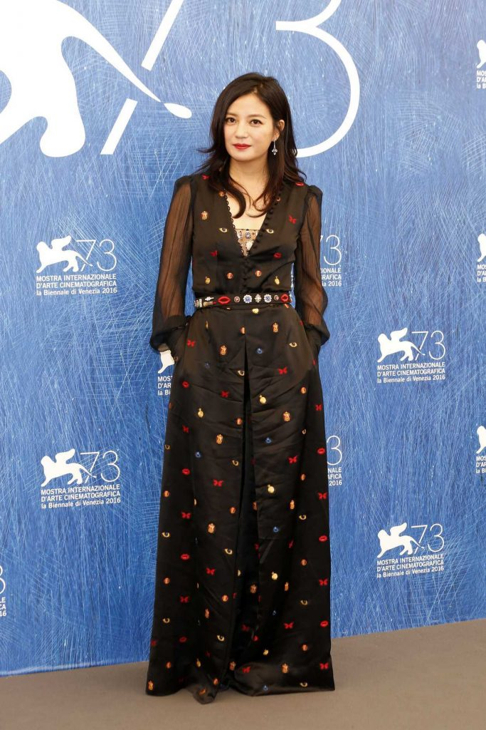 Zhao Wei at 73rd Venice Film Festival in Italy 08/31/2016-1