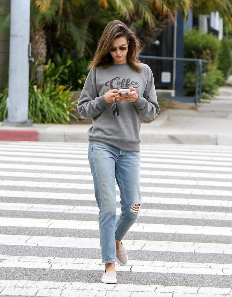Alessandra Ambrosio Was Seen Out in Los Angeles 10/11/2016-1