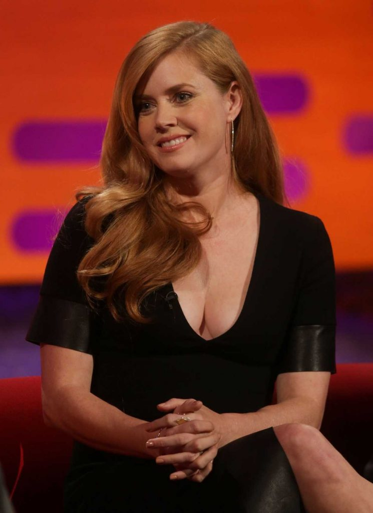 Amy Adams Visits The Graham Norton Show in London 10/14/2016-1