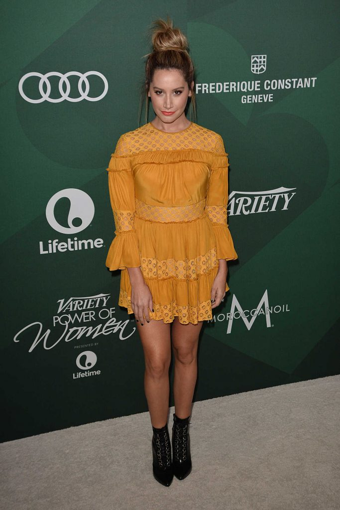 Ashley Tisdale at the Variety's Power of Women Sponsored by Audi in Los Angeles 10/14/2016-1