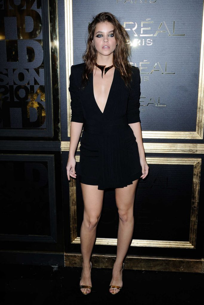 Barbara Palvin at the Gold Obsession Party During the Paris Fashion Week 10/02/2016-1