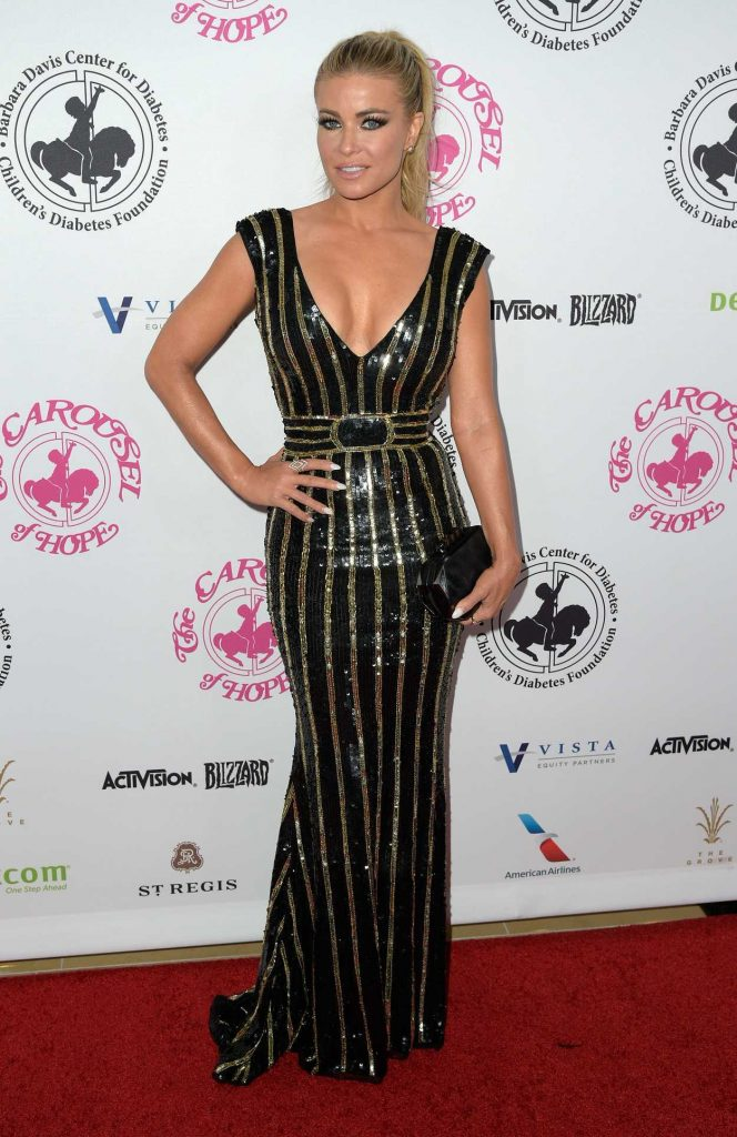 Carmen Electra at the Hope Ball in Beverly Hills 10/08/2016-1