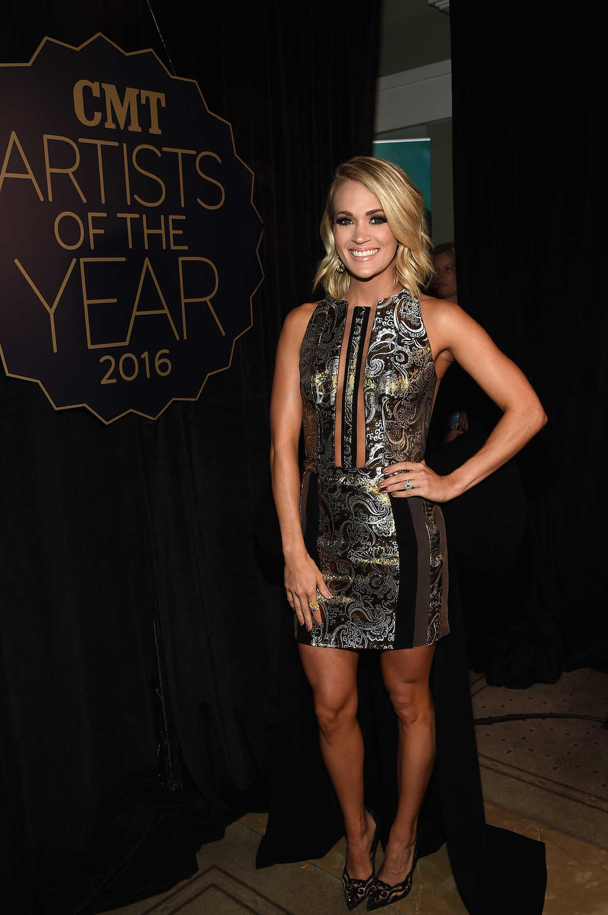 Carrie Underwood At The 2016 Cmt Artists Of The Year In Nashville 10 1...