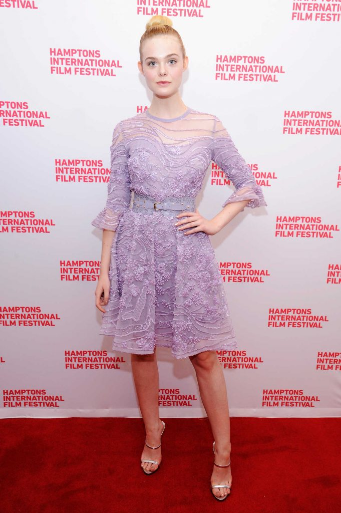 Elle Fanning at the Hamptons International Film Festival 10/09/2016-1