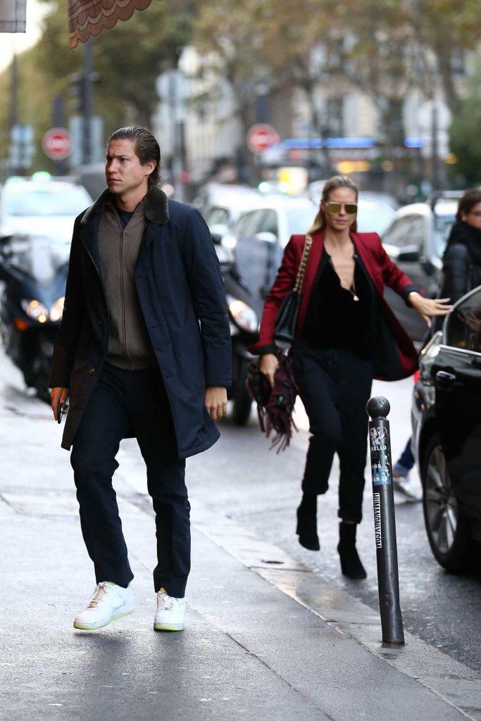 Heidi Klum Was Seen Out in Paris 10/21/2016-2