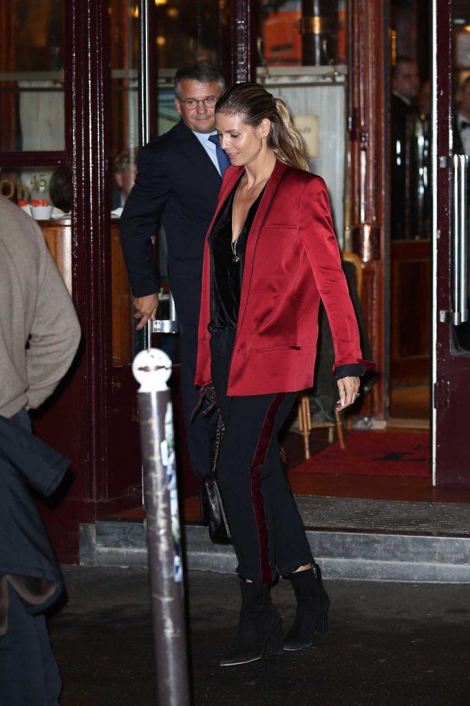 Heidi Klum Was Seen Out in Paris 10/21/2016-3