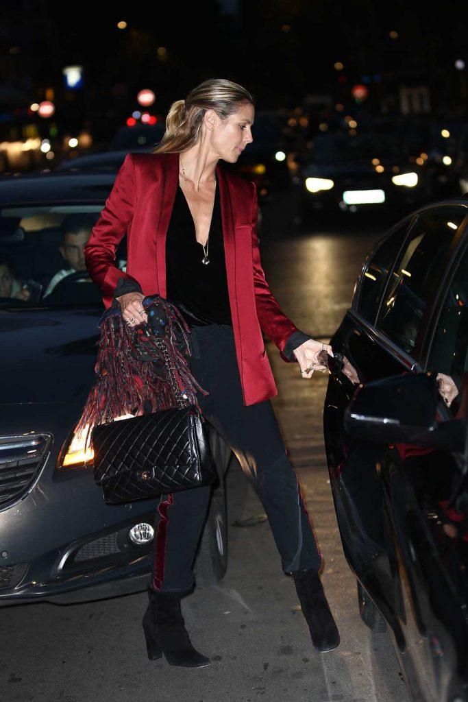Heidi Klum Was Seen Out in Paris 10/21/2016-4