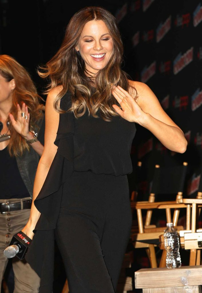 Kate Beckinsale at Underworld: Blood Wars Panel During New York Comic-Con 10/07/2016-1