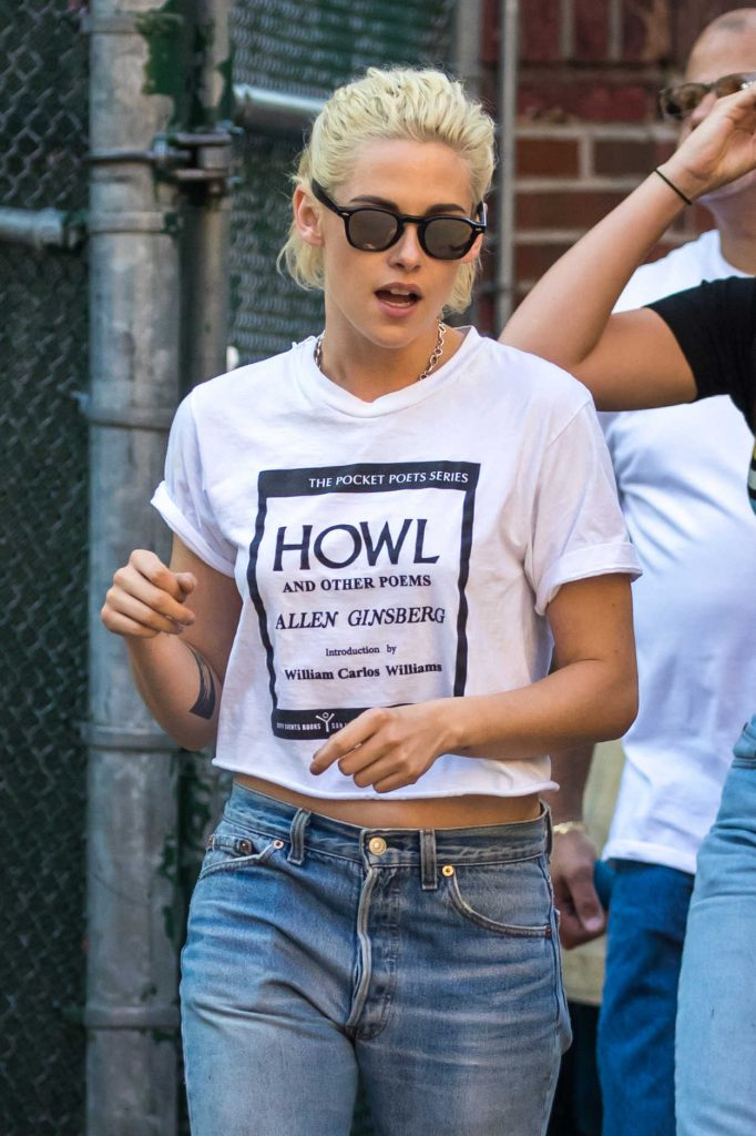 Kristen Stewart Was Seen Out in New York 10/07/2016-1