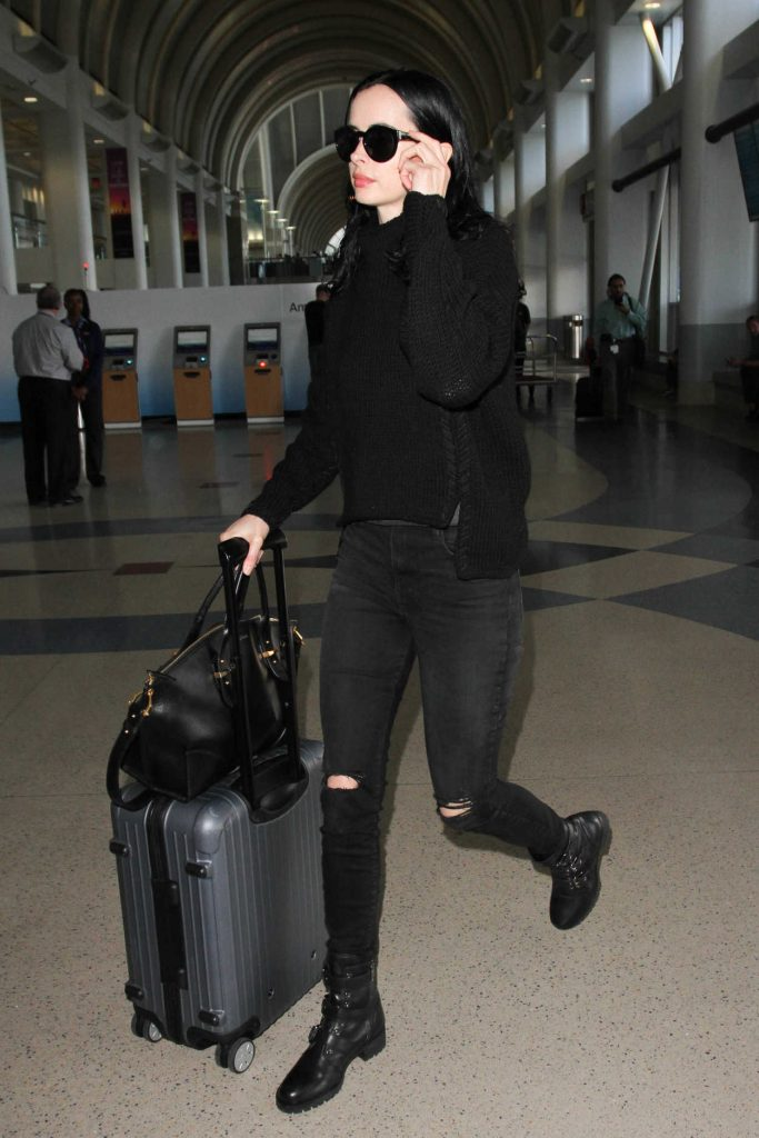 Krysten Ritter Was Seen at LAX Airport in Los Angeles 10/07/2016-2