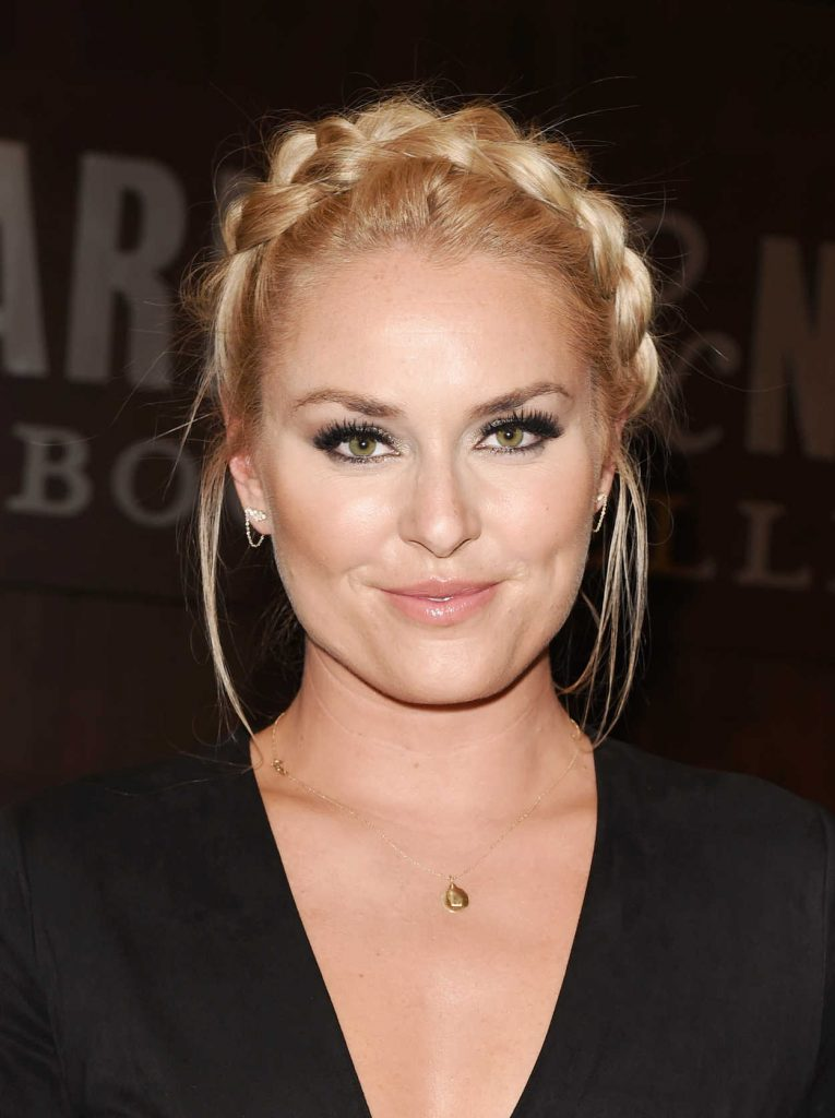 Lindsey vonn attends the strong is the new beautiful book for Beautiful in los angeles
