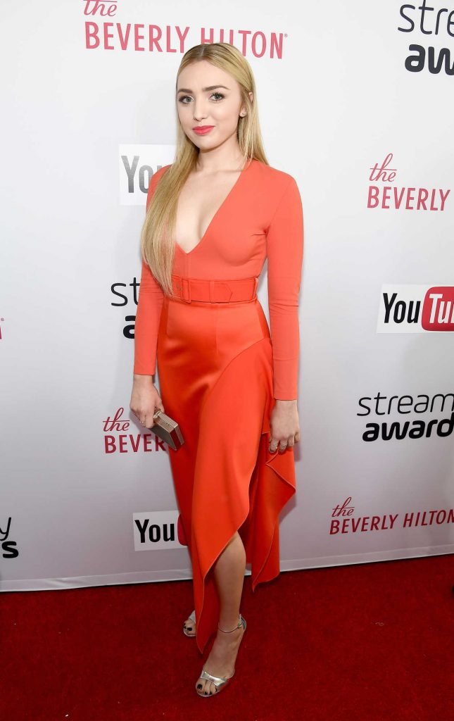 Peyton List at the 6th Annual Streamy Awards in Beverly Hills 10/04/2016-1
