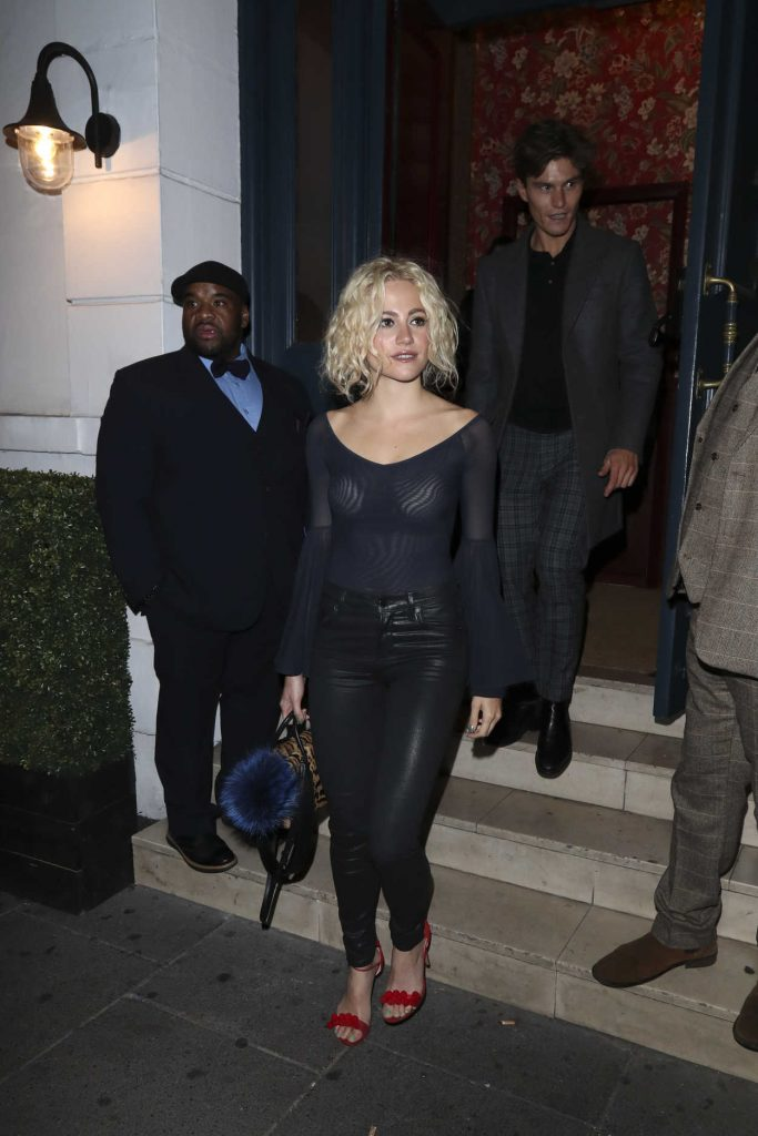 Pixie Lott at Albert's Nightclub in London 10/22/2016-1