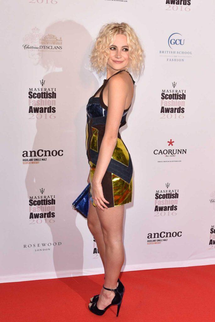 Pixie Lott at the Scottish Fashion Awards in London 10/21/2016-3
