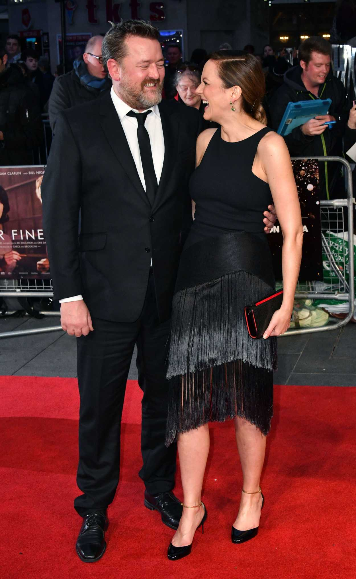 Rachael Stirling at the Their Finest Premiere During the