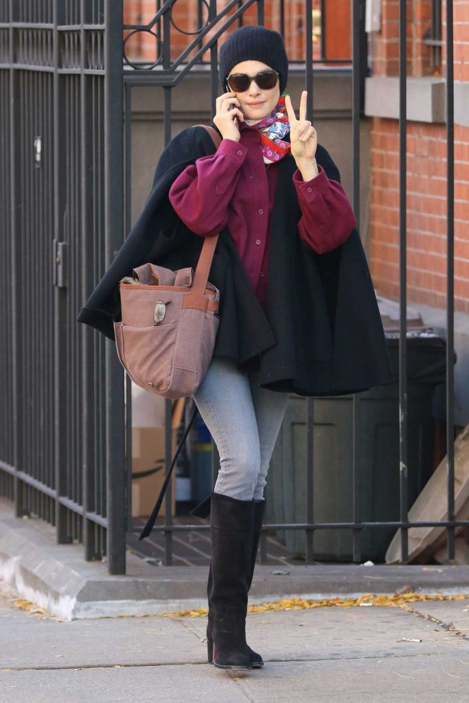 Rachel Weisz Was Seen Out in New York 10/30/2016-1