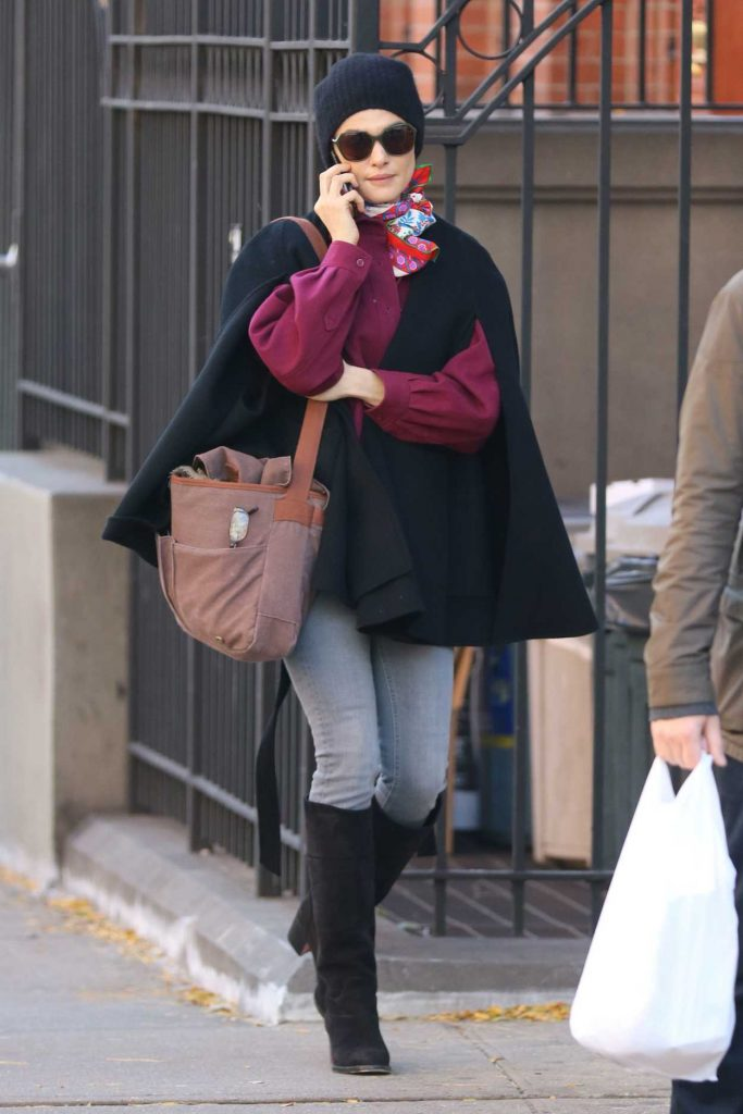 Rachel Weisz Was Seen Out in New York 10/30/2016-2