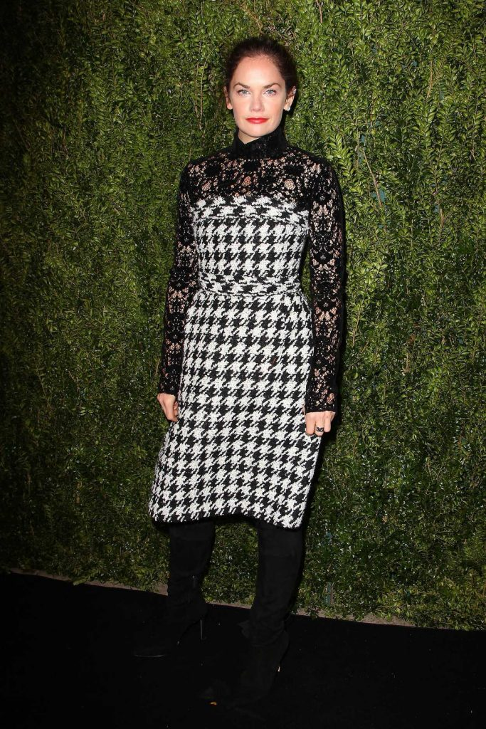 Ruth Wilson at the Tribeca Chanel Women's Filmmaker Program Luncheon in New York 10/25/2016-2