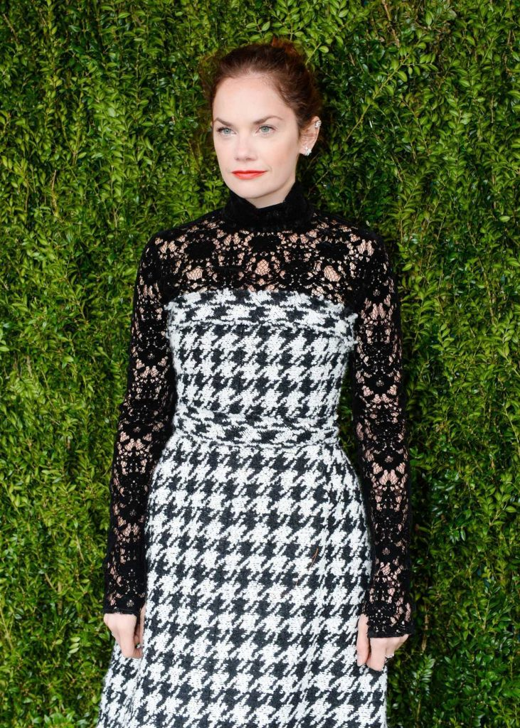Ruth Wilson at the Tribeca Chanel Women's Filmmaker Program Luncheon in New York 10/25/2016-3