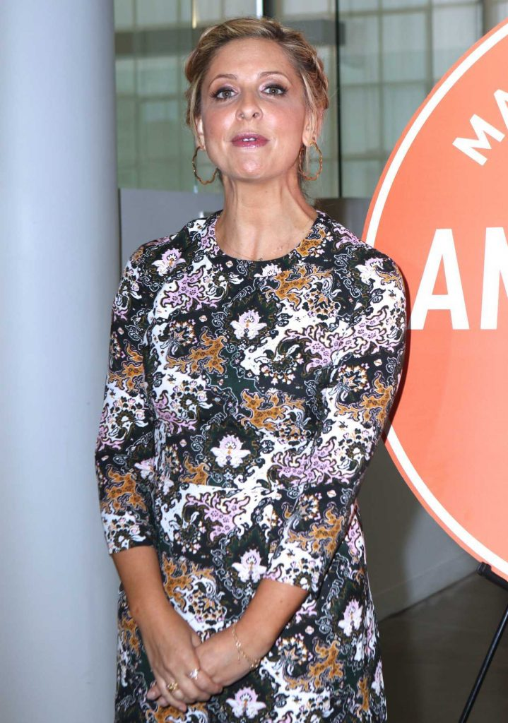 Sarah Michelle Gellar at the 2016 American Made Summit in NYC 10/21/2016-5