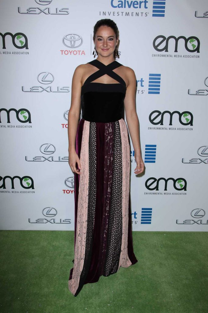 Shailene Woodley at the 26th Annual EMA Awards in Burbank 10/22/2016-1