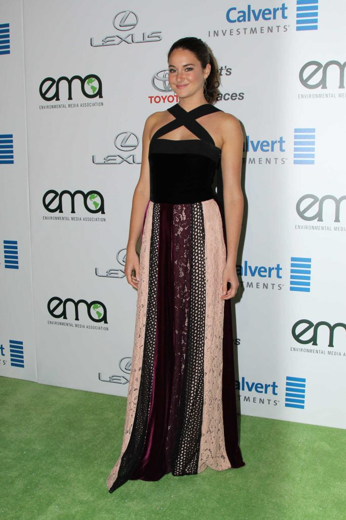 Shailene Woodley at the 26th Annual EMA Awards in Burbank 10/22/2016-3