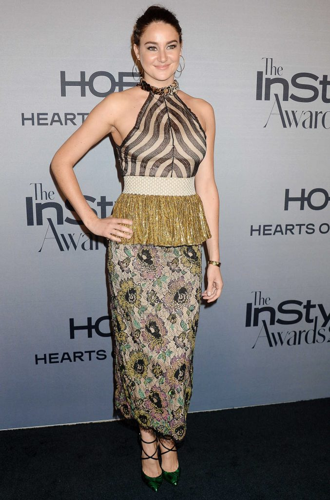 Shailene Woodley at the Instyle Awards 2016 in Los Angeles 10/24/2016-1