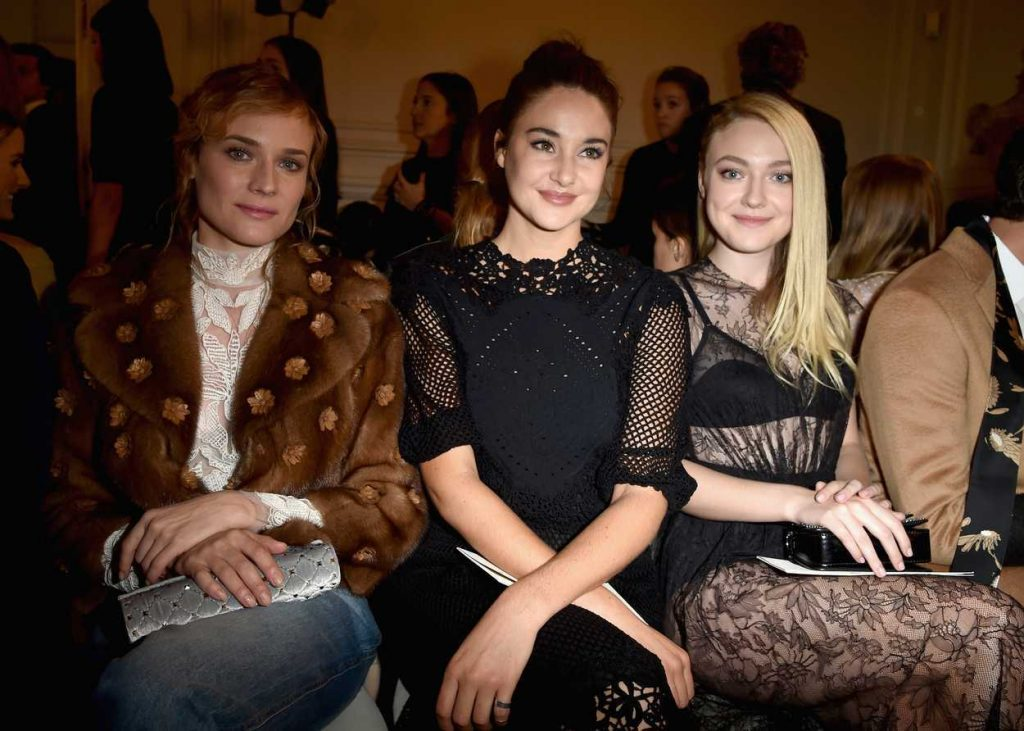 Shailene Woodley at the Valentino Fashion Show During the Paris Fashion Week 10/02/2016-3