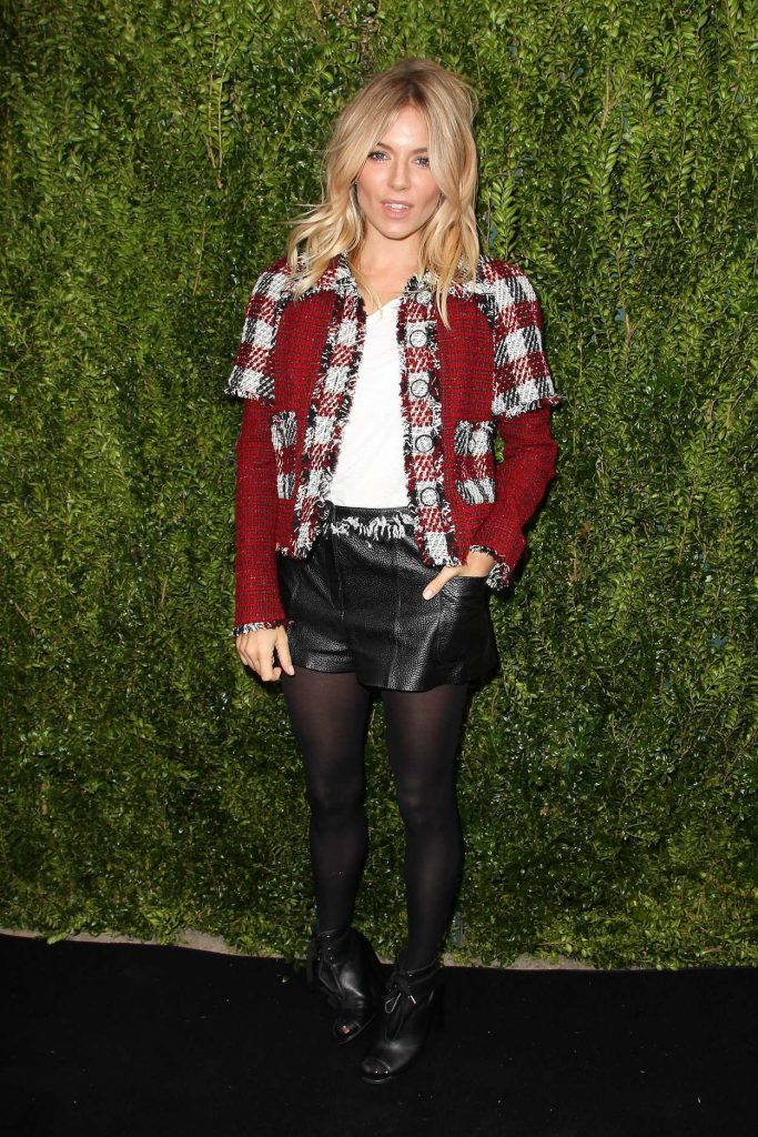 Sienna Miller at the Tribeca Chanel Women's Filmmaker Program Luncheon in New York 10/25/2016-1