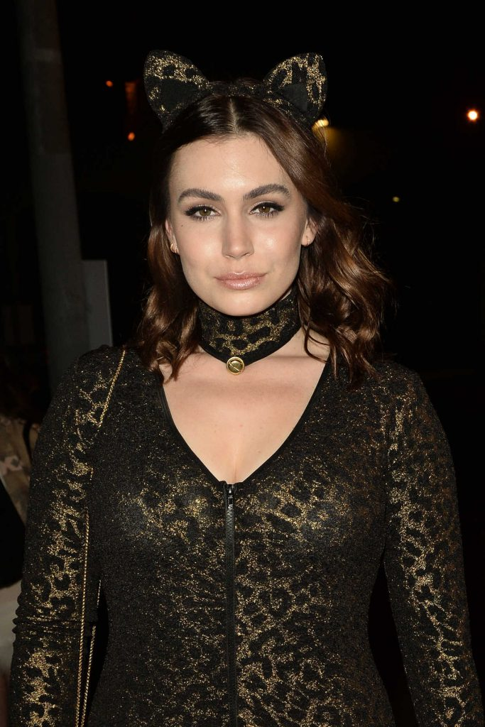 Sophie Simmons at the 6th Annual Treats Magazine Halloween Party in Los Angeles 10/29/2016-4