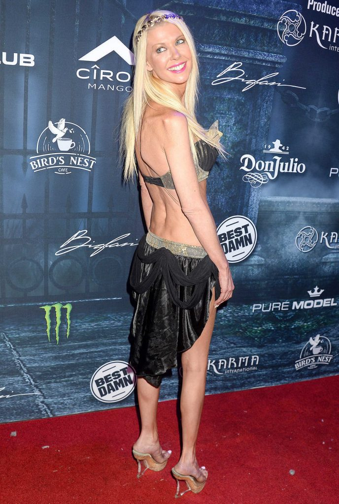 Tara Reid at the Maxim Halloween Party in Los Angeles 10/22/2016-3