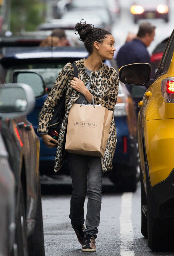 Thandie Newton Was Seen Out in Soho, New York 10/09/2016-3