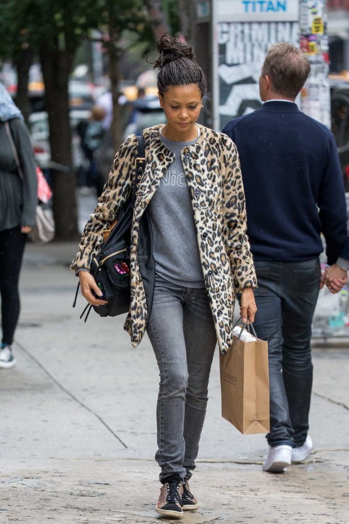 Thandie Newton Was Seen Out in Soho, New York 10/09/2016-4
