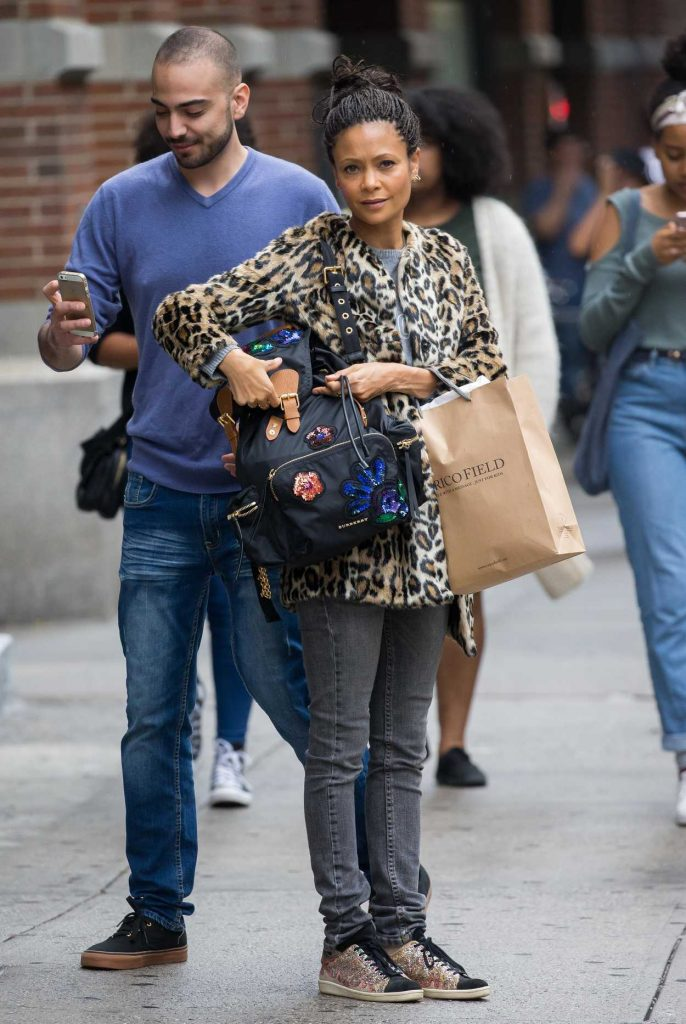 Thandie Newton Was Seen Out in Soho, New York 10/09/2016-5