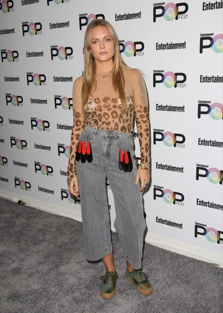 Tove Lo at Entertainment Weekly's PopFest in Los Angeles 10/30/2016-1
