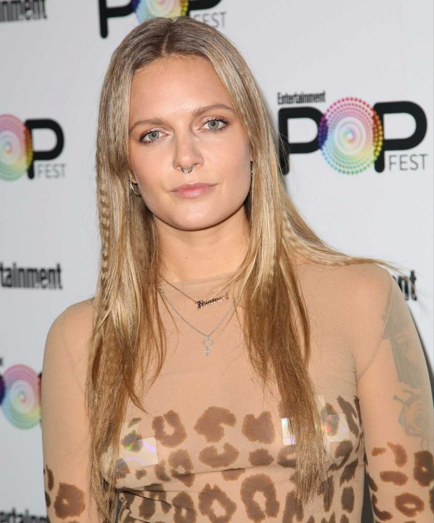 Tove Lo at Entertainment Weekly's PopFest in Los Angeles 10/30/2016-3